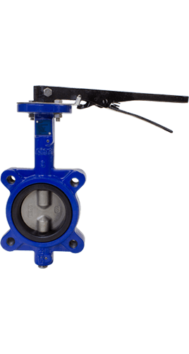 Flow+ Ductile Iron Resilient Seated Butterfly Valves Class 150 Lug or Wafer 2-12 inch Image