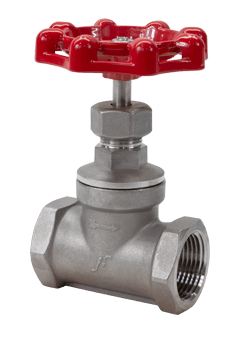 Flow+ Stainless Steel Globe Valves Class 200 WOG Threaded or Socket Weld Image