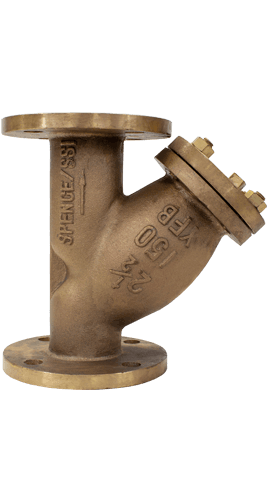 SSI Bronze Y-Strainers Class 150 Flange Image