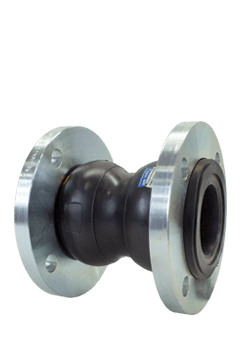 SSI Ductile Iron Neoprene Expansion Joints Double Sphere 150 PSI Image